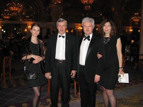 Делегация НАФ на официальном приеме князя-суверена Монако Альберта Второго в Монте Карло